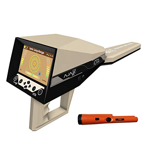 AJAX DETECTION IOTA Metal Detector - Professional Metal Detection - Ionic Gold and Metal Detector - Long Range Ionic Treasure Detector - with Free Pin Pointer