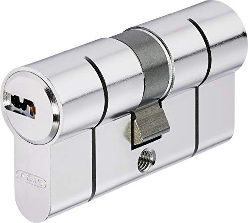 Abus Cylindre à Double Entrée D6PSN 40/45 mm Bkn, Nickelé