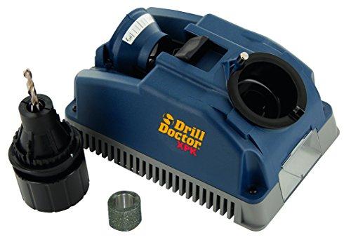 Tivoly Drill Doctor 400 Bohrerschärfgerät, für Bohrer mit 2,5bis 13mm, Schärfung bis zu einem Spitzenwinkel von 118Grad