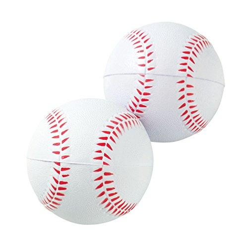 Kaiser(カイザー) やわらか ボール 硬式タイプ 2個入り KW-041 野球 レジャー ファミリースポーツ