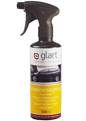 Glart 45SV Auto Lack Schnellversiegelung, Sprühwachs, schnelle Anwendung für Hochglanz, 500 ml