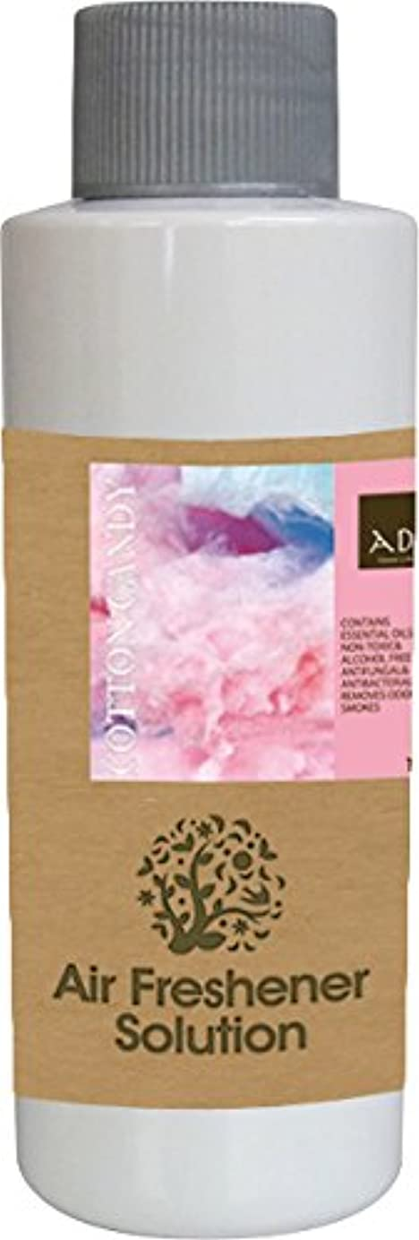 波紋定常製作エアーフレッシュナー 芳香剤 アロマ ソリューション コットンキャンディー 120ml