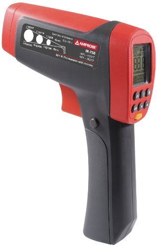 Amprobe IR-708 Infrared Thermometer with 8:1 Spot Ratio