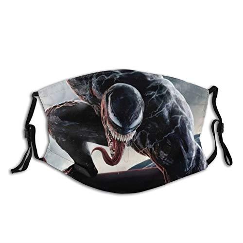 best& Venom Protect - Pasamontañas, antipolvo, antipolvo, para hombres y mujeres, 3 capas, reutilizable, lavable