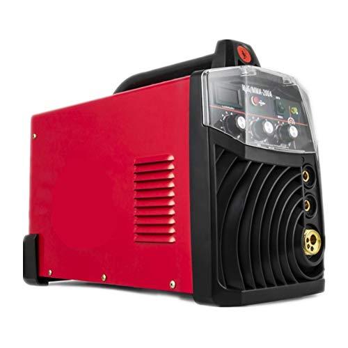 YXZQ Máquina de Soldadura portátil Soldadora MIG-200 Máquina de Soldadura Multifuncional 220V MIG MMA Máquinas de Soldadura Equipo de Soldadura portátil Mantenimiento eficiente