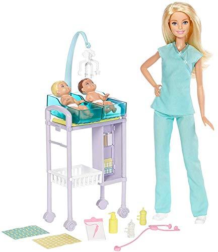 Barbie Docteur pour Enfants Medecin Pédiatre - 0