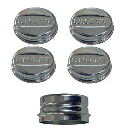 FKAnhängerteile 4 x Knott Radkappe - Fettkappe - Staubkappe Ø 52,1 mm - Knott Nr. 47117