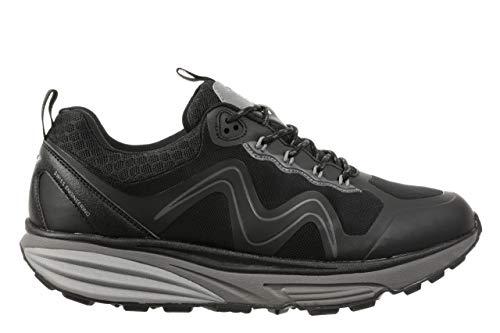 MBT Zapatillas de deporte para mujer TEVO WP W, calzado funcional para mujer, color Negro, talla 41.5 EU