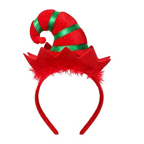 Head Hoop Children Adult Headband Cosplay Costume Decorative Cute Delicate Festival Red