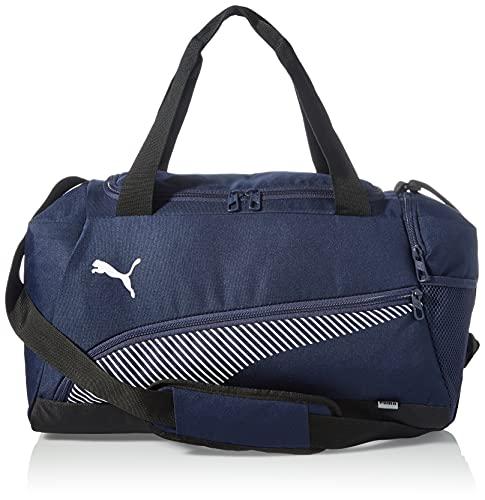 Puma 4063699952964 Fundamentals Sports Bag S Borsa, Peacoat/Puma White