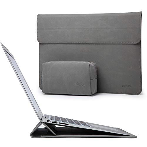 HYZUO 15-16 Inch Laptop Sleeve Case Cover with Stand Feature Compatible with 2019 New Macbook Pro 16 A2141/Surface Laptop 3 15 Inch/2012-2015 Macbook Pro 15 A1398/Dell XPS 15 with Small Carry Bag