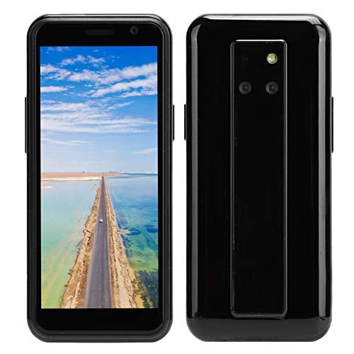 3.49in Black Smart Mini Phone para SOYES S10-H, Mini 4G DSDS Mobile Phone para Android 4 + 64G Full Netcom W/Charger 100‑240V, Soporte para GPRS, WiFi, Hotspot Sharing (UE)