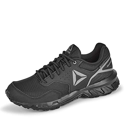 Reebok Herren Ridgerider Trail 4.0 GTX Leichtathletik-Schuh, Black/Grey/Silver, 39.5 EU