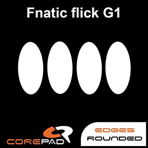 Corepad Skatez PRO 126 Ersatz Mausfüße Replacement Mouse Feet Fnatic flick G1