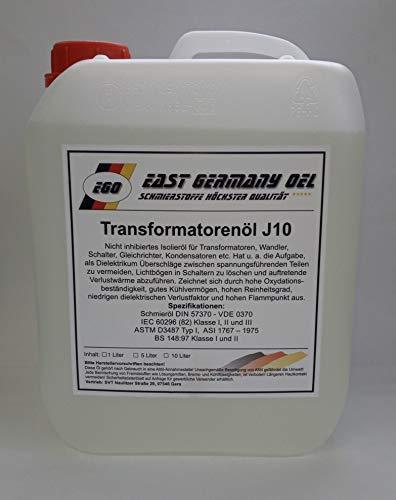 East Germany OIL Transformatorenöl, Kanister 5 Liter