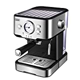 Gevi Espresso Machine Cappuccino Machine & Latte Machine with 15 Bar Powerful Pump, Steam ...