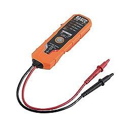 Klein Tools ET40 Voltage Tester, AC Voltage, DC Voltage, and DC Polarity, Includes Batteries