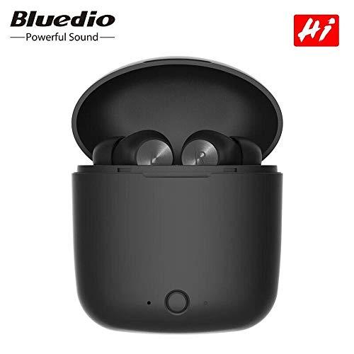 Bluetooth Kopfhörer,Bluedio TWS Hi kabelloser Kopfhörer für Stereo-Sport-Ohrhörer-Headset mit Ladebox