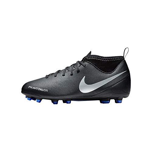Nike Jr Phantom Vsn Club Df Fg/Mg - Botas de fútbol unisex, color negro, color, talla 33.5 EU