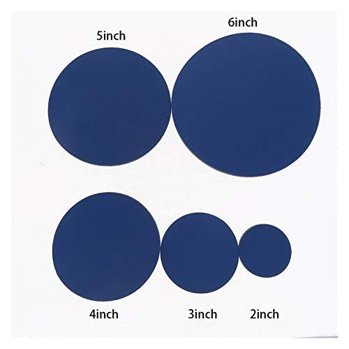 SSXPNJALQ 2-6inch Thin Conversion Pad Hook & Schleife PSA Vinyl Protect-Auflage for Adhesive Schmirgelpapier Schleifwerkzeuge (Color : 3pcs, Grit : 6inch)