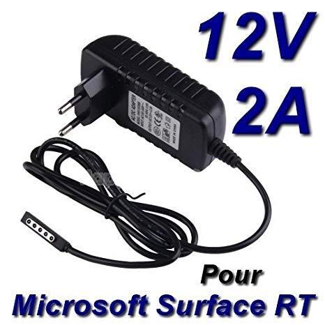 TOP CHARGEUR * Adaptador Alimentación Cargador Corriente 12V Reemplazo Recambio Tablet Microsoft Surface RT