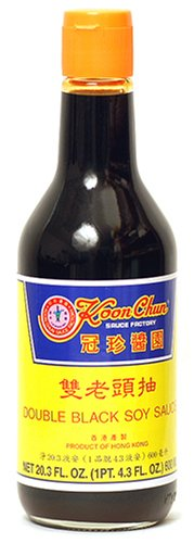 Koon Chun Double Black Soy High order Sauce NEW before selling 20.3-Ounce Pack 2 Bottle of