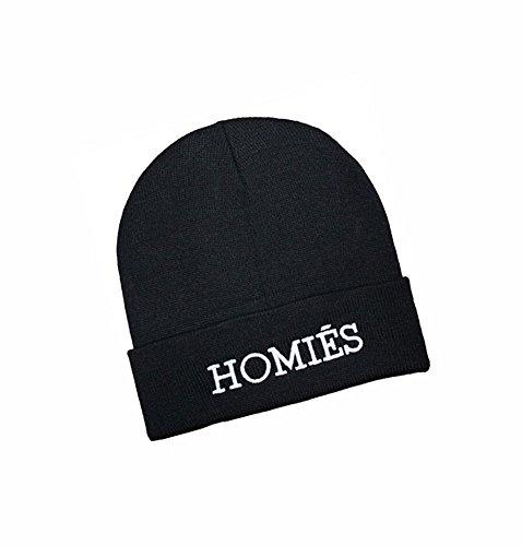 KGM Accessories Neuf Homies brodée Bonnet Noir