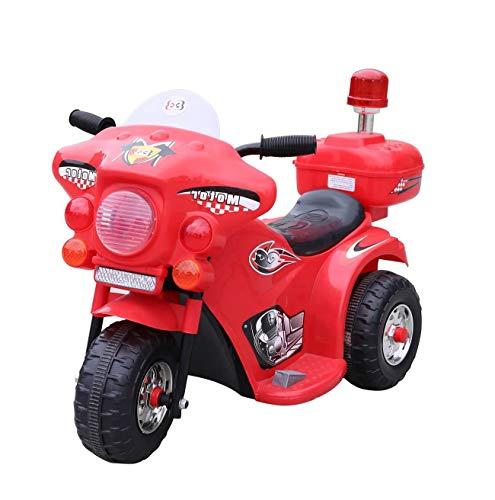 Toyas Elektro Kindermotorrad Polizei LQ998 Rot