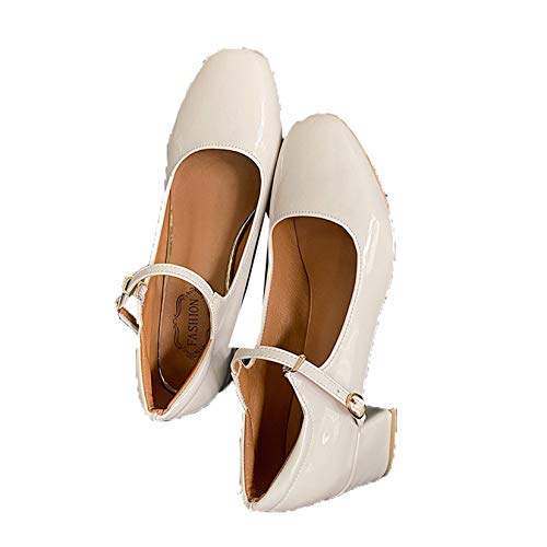 Frauen Mary Jane Schuhe Mode Square Toe Knöchelriemen Kleid Schuhe Sweet Style Shallow Mouth Block Heel Court Schuhe für Party