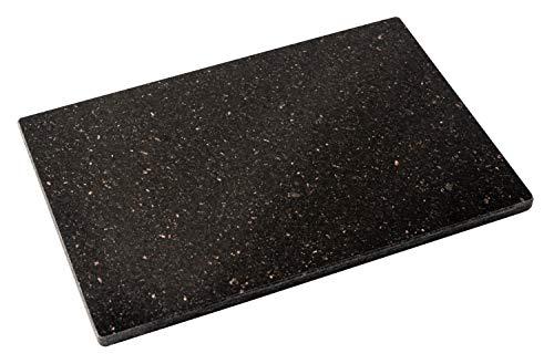 DiConcetto Tabla de cortar de granito | Placa de piedra | Placa de granito (30 x 20 x 1, Granito Star Galaxy)