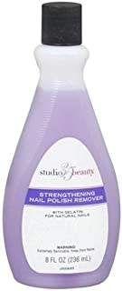 Studio 35 Beauty Salon Formula Strengthening Nail Polish Remover 8 Ounces by Studio 10