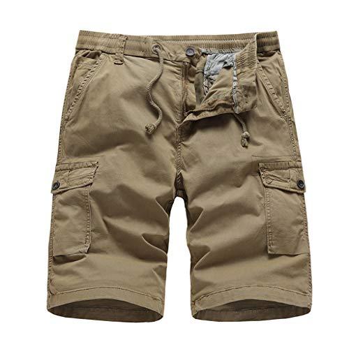 Momoxi Herren Outdoor Color Color Sport Cargo Shorts Khaki 34 Baby Exklusive bademode große Cups bauchweg Bikini Bikini für Kinder Sporthose