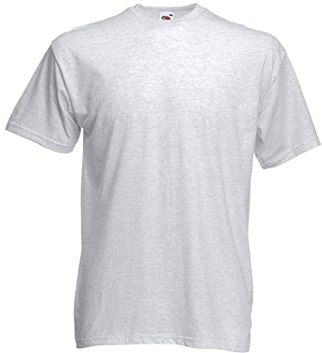 Fruit of the Loom Valueweight T-Shirt Aschgrau L
