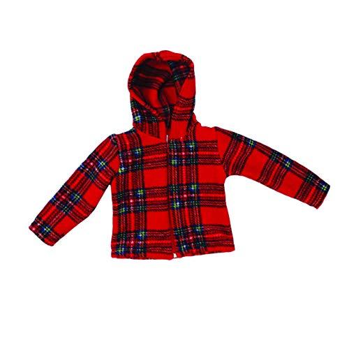 Highland Tweed Kinder Unisex Schottische Royal Stewart Tartan Fleecejacke - Mehrfarbig, 4yrs