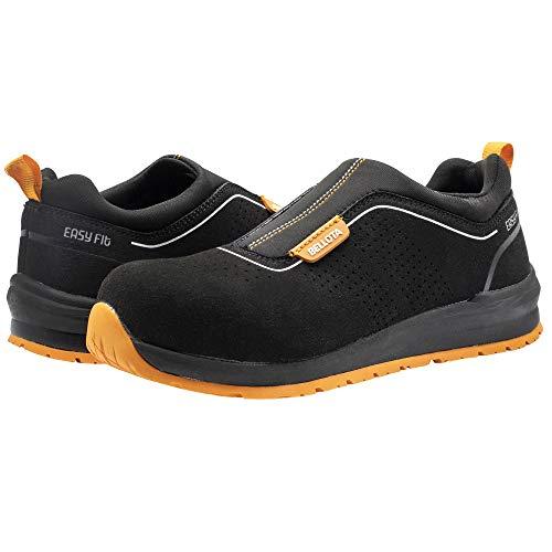 Bellota 72352B45S1P Zapato de Seguridad, Negro, Naranja, 45 EU