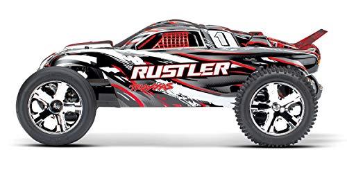 RC Auto kaufen Truggy Bild 3: Traxxas Rustler Brushed 1:10 RC Modellauto Elektro Truggy Heckantrieb (2WD) RTR 2,4 GHz*