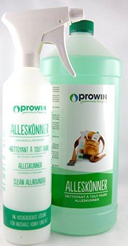 proWIN Alleskönner 2 Liter + Sprühflasche