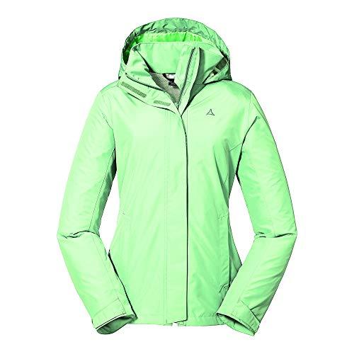 Schöffel Damen Jacket Sevilla2, wind- und wasserdichte Outdoorjacke aus atmungsaktivem Material, leichte Regenjacke für Frauen