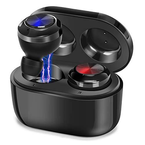 LTDNB Bluetooth Kopfhörer In Ear Kabellos Bluetooth Kopfhörer,IPX7 Wasserdicht Wireless Earbuds Bluetooth 5.0 Headset mit Mikrofon, HiFi Stereo Sport Wireless Minikopfhörer