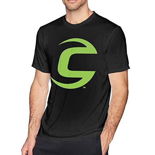 momnn Cannondale Green Bike Logo Men's Short Sleeve T-Shirt Black M