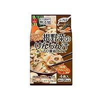 アスザックフーズ スープ生活 根野菜のけんちん汁 35.2g(8.8g×4食)×10袋
