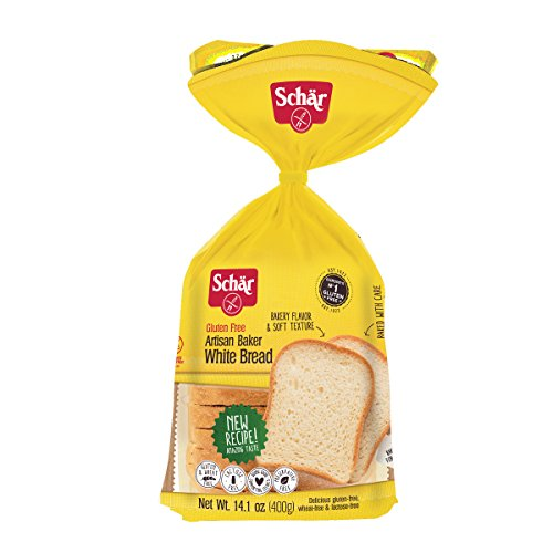 Dr Schar Gluten Free White Bread, 14.1oz, Pack of 3