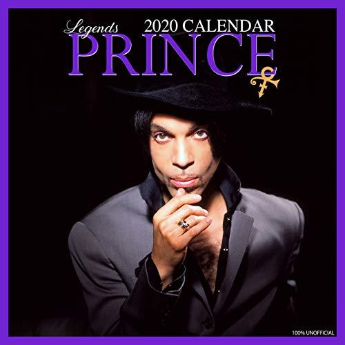 Prince 2020 Wandkalender, quadratisch, 30,5 x 30,5 cm, inkl. Poster