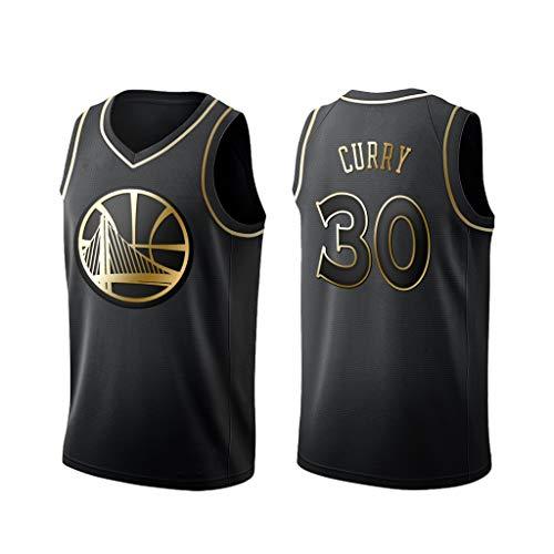 Camiseta sin Mangas de Rendimiento de Baloncesto-XS Jersey Golden Swarriors Swingman de Malla de Golden State Warriors YHIU Camisetas de Stephen Curry # 30