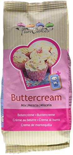 FunCakes Preparado Crema de Mantequilla Buttercream, Sabor Mantequilla, 500g, Halal, FC76168
