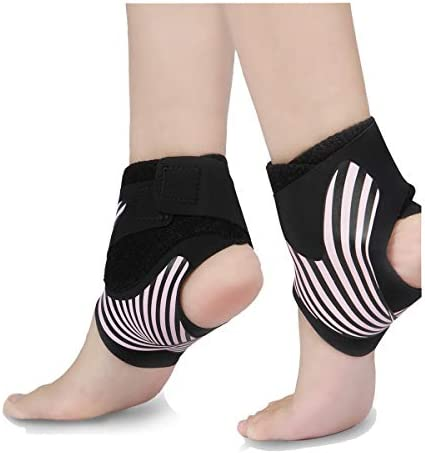 Ankle Brace for Women Ankle Support Adjustable Plantar Fasciitis Compression Sleeve Sports Ankle product image