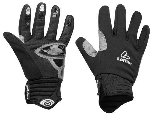 Löffler Handschuh WS Softshell Warm, Schwarz, 9-9.5, 01046