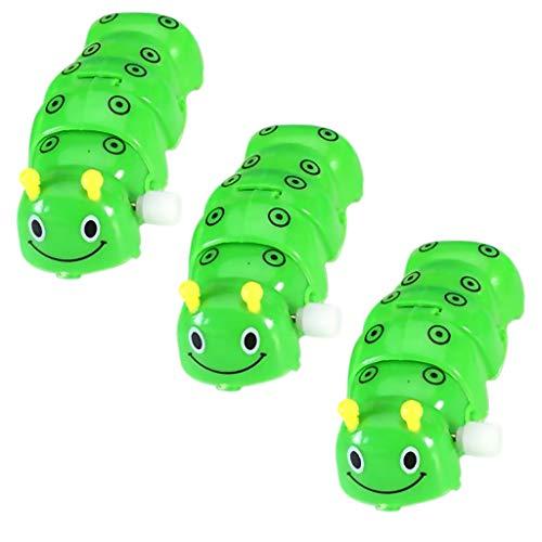 non-brand 3X Aufziehspielzeug Aufziehspielzeug Caterpillar Worm Mechanisches Spielzeug Kinder Kleinkind Geschenk
