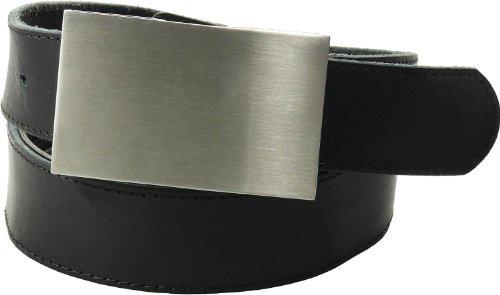 Tresorgürtel mit Kartenfach + Reißverschluß, Farben:schwarz, Bundweite:110