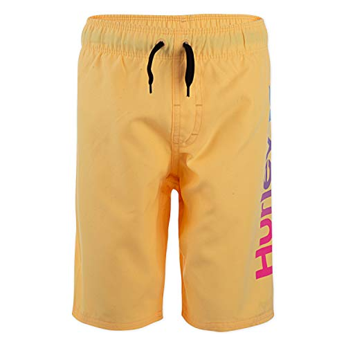 Hurley Boys' Little Pull On Board Shorts, Melon Tint, 5